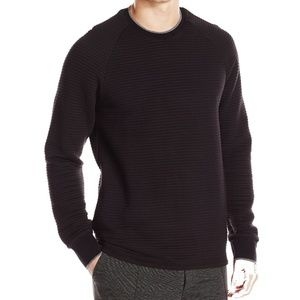 Kenneth Cole Reaction Sweater Quilted M XL New